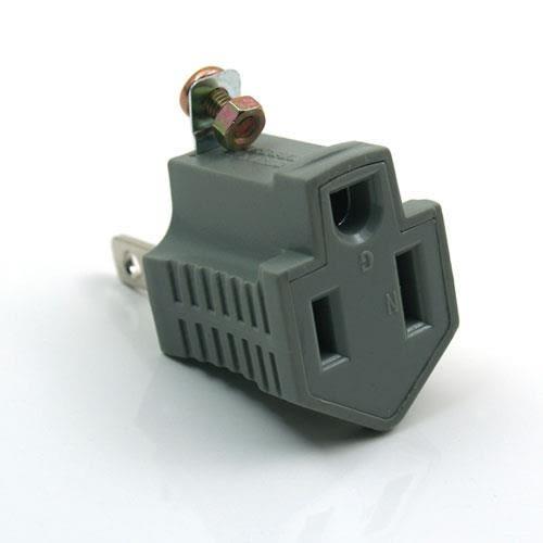 PowerSync群加 EAC-32B-2 3轉2電源轉接頭 (2入)