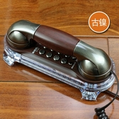 壁掛式仿古電話機 掛墻座機 復古創意 家用酒店賓館小掛機   潮流時