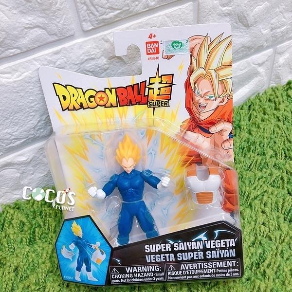 正版 七龍珠公仔 POWER UP系列 超級賽亞人 貝吉塔 公仔 玩具擺飾 COCOS FG680