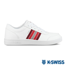 K-SWISS Court Clarkson S SE時尚運動鞋-男-白/紅