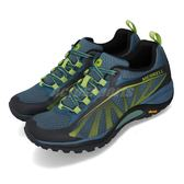 Merrell 戶外鞋 Siren Edge 藍 綠 運動鞋 越野 登山 休閒鞋 女鞋【PUMP306】 ML37098