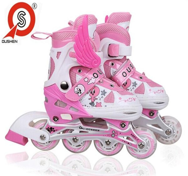 食尚玩家 3-4-5-6-7-8-9-10-11-12歲小孩兒童溜冰鞋全套裝男孩輪滑冰鞋女孩