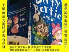 二手書博民逛書店dirty罕見bertie snow 骯臟的伯蒂·斯諾Y200392