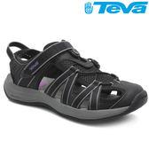 TEVA (女)護趾水陸多功能運動涼鞋Rosa - 黑紫