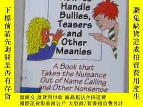 二手書博民逛書店英文原版罕見How to Handle Bullies,Teas