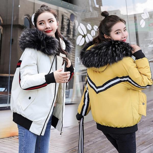 超殺29折 韓國風棉衣短款寬松羽絨棉服單品外套