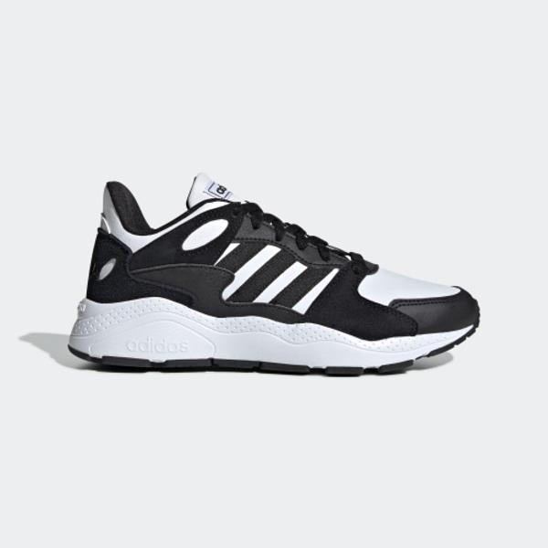 ADIDAS CHAOS [EE5596] 女鞋 運動 慢跑 休閒 緩震 舒適 健身 輕量 愛迪達 黑白