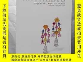 二手書博民逛書店蘇富比罕見MAGNIFICENT JEWELS AND JADEITE:Hong Kong 2001Y2616