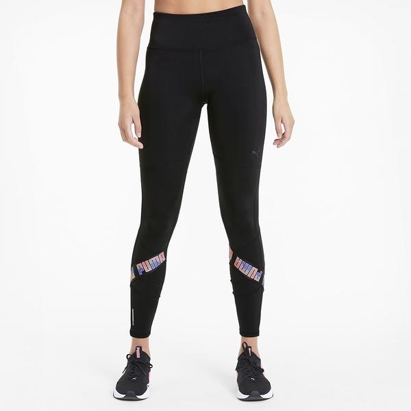 【現貨】PUMA Feel It 女裝 長褲 9分褲 緊身 慢跑 訓練 排汗 後口袋 歐規 黑【運動世界】51893701