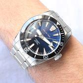 新春限時5折 RELAX TIME RT-77 海神系列 300米潛水機械錶-藍x黑圈/44mm RT-77-1-1