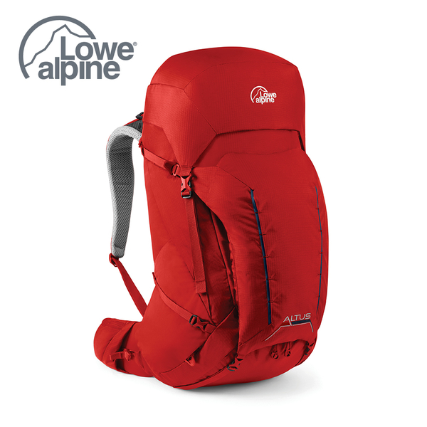 Lowe Alpine Altus 52:57 多功能登山背包 氧化鉛紅 #FMQ12