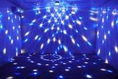 閃光燈 KTV閃光燈水晶魔球燈七彩燈旋轉燈家用室內房間110v 【免運86折】