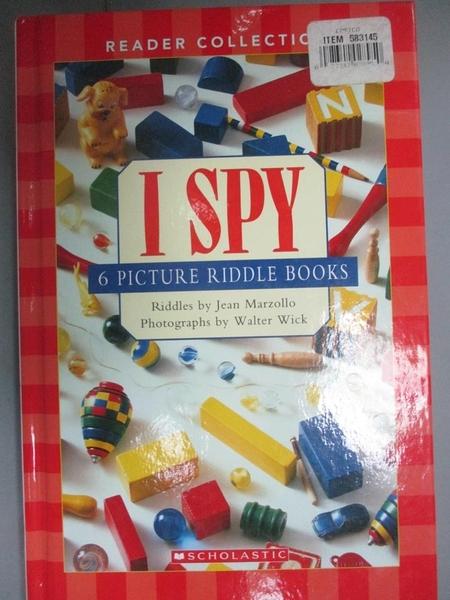 【書寶二手書T4/設計_XGA】i spy: 6 picture riddle book_Jean Marzollo