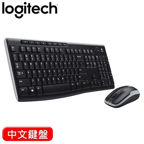 Logitech 羅技 MK270R 無線鍵盤滑鼠組 中文