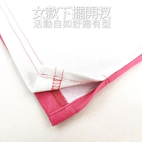 《情侶款》MIT幾何漸層吸濕排汗休閒短POLO衫 透氣 機能(共二色)● 樂活衣庫【AD366-AD367】