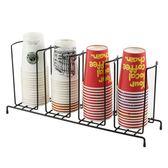 咖啡廳吧台奶茶店紙杯架一次性杯子杯蓋收納架取杯器連鎖外帶杯架  小時光生活館