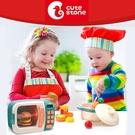 Cutestone 盟石 微波爐廚具套裝玩具