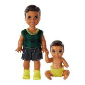 芭比娃娃Barbie 褓姆嬰兒遊戲配件