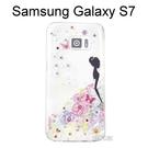 施華洛世奇彩鑽透明軟殼 [花嫁] Samsung Galaxy S7 G930FD