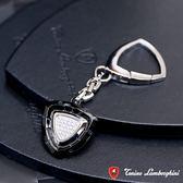 藍寶堅尼Tonino Lamborghini SPYDER BLACK系列 鑰匙圈(黑) 防抗過敏 SUS316L頂級不鏽鋼 義大利精品