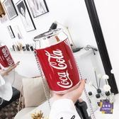 水桶包 2019新款個性字母可樂包女易拉罐包夏季鍊條包可樂瓶斜背包小包包 3色