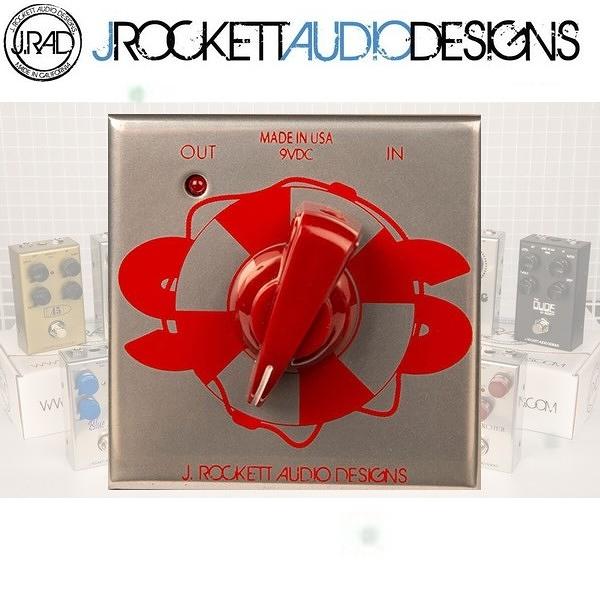 【非凡樂器】J.RAD SOS Buffer 強化原音不失真效果器 / J.Rockett美國手工製 / 贈導線 公司貨保固