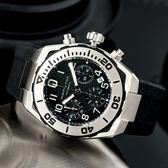 HAMILTON 漢米爾頓 KHAKI NAVY  亮眼潛水計時機械錶/黑 H78716333 熱賣中!