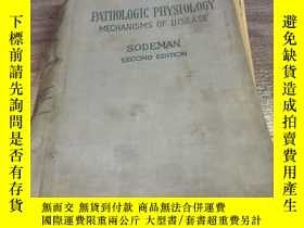 二手書博民逛書店PATHOLOGIC罕見PHYSIOLOGY MECHANISMS OF DISEASEY154919