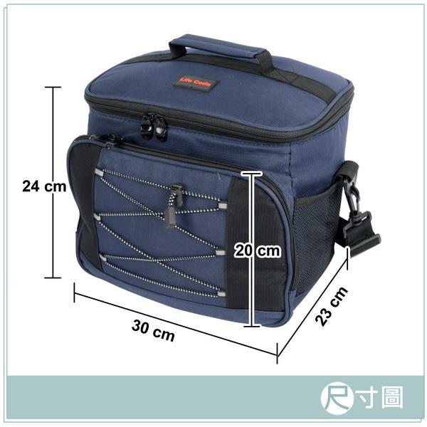 【LIFECODE】歐風保冰袋 (黃色) /保溫袋 /保冷袋 /便當袋 14410012