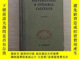 二手書博民逛書店DIFFERENTIAL罕見& INTEGRAL CALCULU