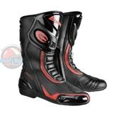 [安信騎士] EXUSTAR E-SBR2101 ESBR2101 黑紅 長靴 車靴 防摔靴 賽車靴