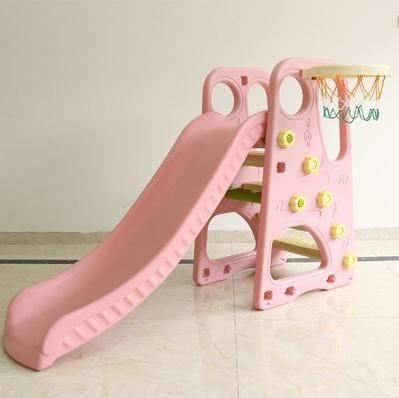 升級家用滑梯室內兒童溜滑梯秋千組合寶寶滑滑梯球池組合玩具 歐韓時代