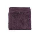 HOLA 埃及棉加大毛巾-深紫 50x90cm