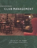 二手書博民逛書店 《Contemporary Club Management》 R2Y ISBN:0866121684│Educational Inst of the Amer Hotel