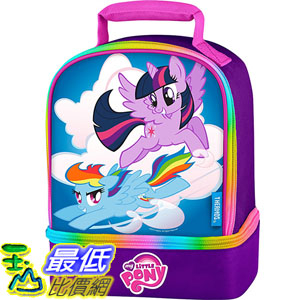 [美國直購] Thermos K316023006 彩虹小馬 兒童午餐袋 午餐包 Dual Compartment Lunch Kit, My Little Pony