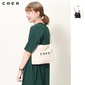 出清 中性 coen LOGO 單車小包  日本品牌【coen】