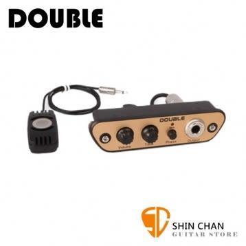 木箱鼓專用拾音器 DOUBLE CJ01  麥克風收音 隨裝即用 免鑽孔 Pick-up【CJ-01】