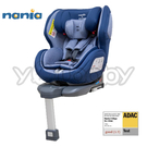 納尼亞 Nania 納歐聯名SL 360度旋轉0-12歲 Isofix 安全座椅(支撐腳)-藍色(FB00380B)