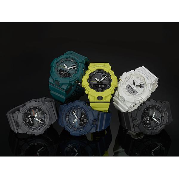 CASIO 卡西歐 G-SHOCK 藍芽運動手錶 GBA-800-1A / GBA-800-1ADR