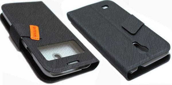 BASEUS Samsung GALAXY S4 mini(GT-I9190) 側翻皮套/手機套/保護殼/保護套/手機包 信仰系列視窗款 2色可選