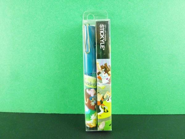 【震撼精品百貨】公主 系列Princess~攜帶型剪刀-愛麗絲圖案-藍綠色