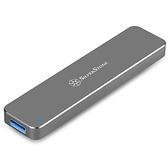 SilverStone 銀欣 SST-MS09C M.2 SATA SSD USB 3.1 Gen 2 外接盒 太空灰色