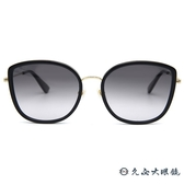 GUCCI 太陽眼鏡 GG0606SK (黑-金) 日本製 墨鏡 久必大眼鏡
