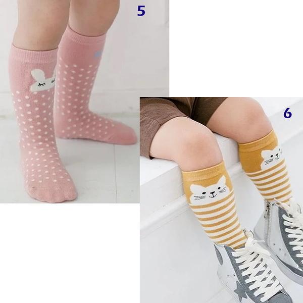 童裝 台灣現貨 韓版動物造型防滑棉質中筒襪-2到4歲可穿【W302】