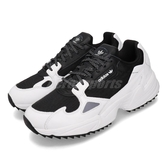 adidas 休閒鞋 Falcon Trail W 白 黑 女鞋 運動鞋 老爹鞋 【ACS】 EF9024