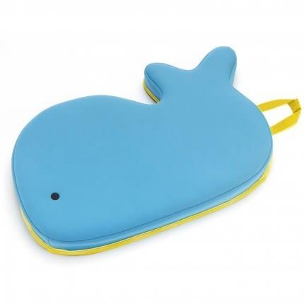 美國SKIP HOP小藍鯨洗澡跪墊