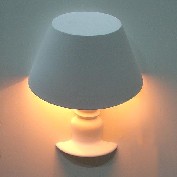 半罩石膏壁燈─寬33高25離牆12.5cm─E14 X 1【雅典娜家飾】AGK268─白、黑兩色可選