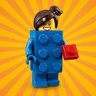 樂高LEGO Minifigures 18 派對主題 人偶組 人偶包 藍色樂高女孩 拆袋檢查全新販售 71021 TOYeGO 玩具e哥