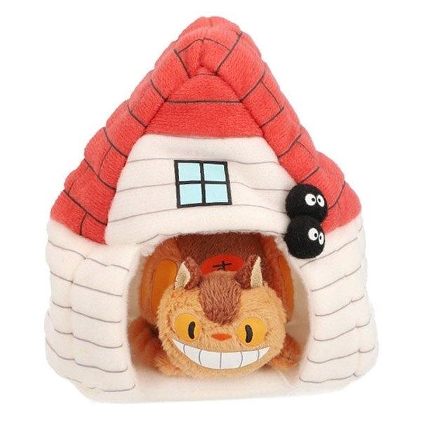 【龍貓公車 絨毛玩偶】宮崎駿 龍貓公車 草壁家 絨毛玩偶 娃娃 日本正版 該該貝比日本精品