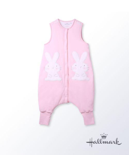 Hallmark Babies小兔子兒童純棉加厚分腿睡袋防踢被 HG3-B01-A5-AG-MR